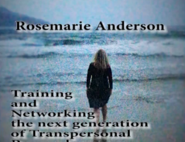 Rosemarie Anderson video talk at the Brazilian Transpersonal Research Colloquium 2015